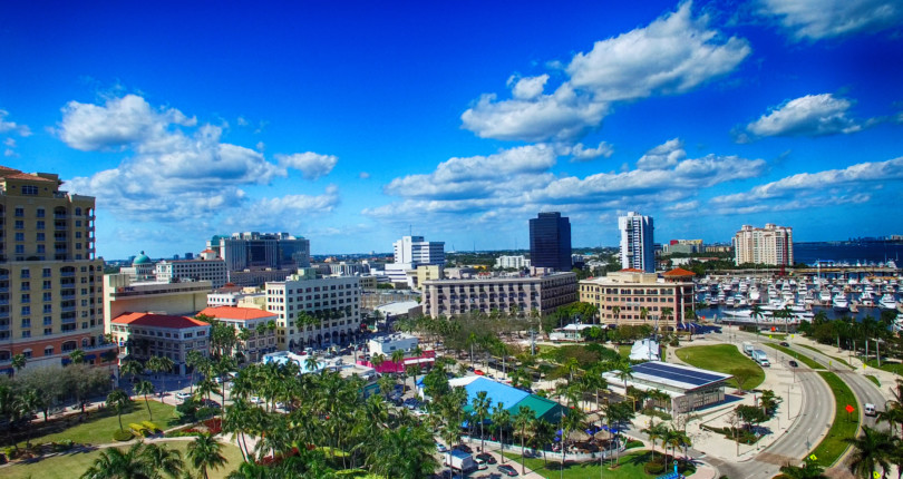 Who rules the market in West Palm Beach?